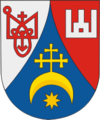 Coat of Arms of Brahin, Belarus.png