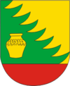 Coat of Arms of Krasnapolle, Belarus.png