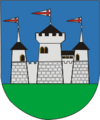 Coat of Arms of Miadzieł, Belarus.png