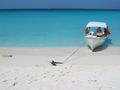 Los Roques beach and boat.jpg