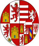Arms of Mariana of Austria, Queen consort of Spain.png