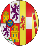 Arms of Queen Maria Christina of Spain (1858-1929).png
