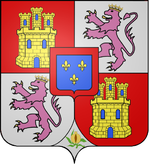 Arms of Francis of Assisi (1822-1902), King consort of Spain.png