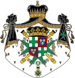Coat of arms of Francisco de Paula of Bourbon and Escasany, V Duke of Seville.png