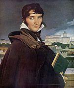François Marius Granet, (1775-1849), peintre, autoportrait