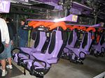 The bat coaster train Lagoon utah.JPG