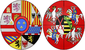 Arms of Maria Amalia of Saxony, Queen Consort of Spain.png