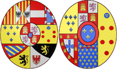 Arms of Queen Maria Christina of Spain (1806-1878).png