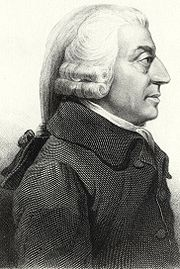 Portrait d'Adam Smith