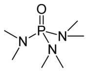 Chemical structure of HMPA