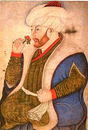 Mehmet II par Gentile Bellini