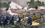 Battle of Gettysburg, by Currier and Ives.png