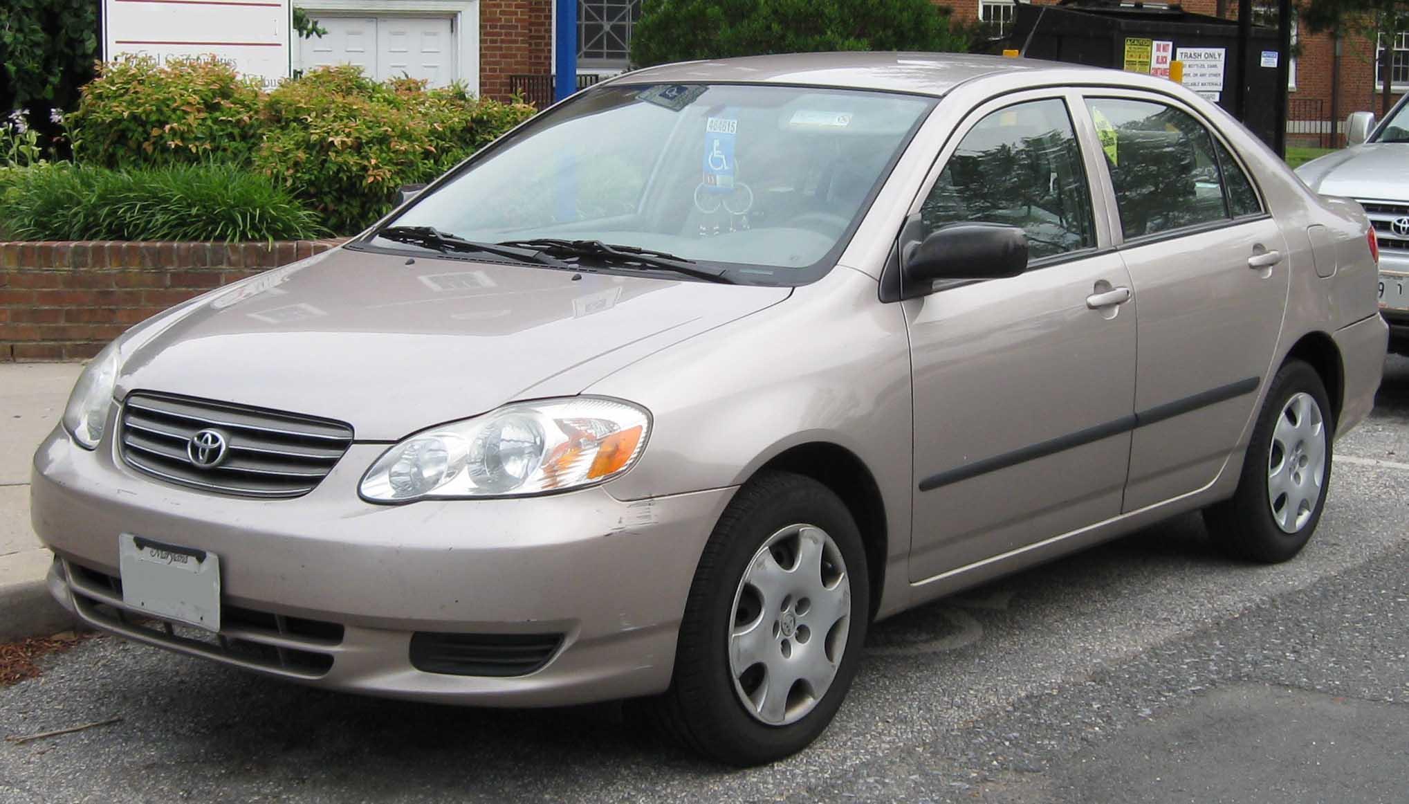 Toyota corolla ce (usa)