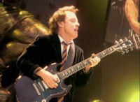 angus young. Black Bedroom Furniture Sets. Home Design Ideas