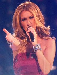 Celine Dion Concert Singing Taking Chances 2008.jpg