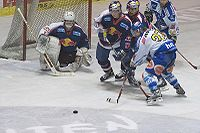 Ice Hockey goalkeeper Irbe of EC Red Bull Salzburg.jpg