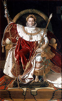 Ingres, Napoleon on his Imperial throne.jpg