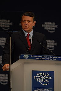 King Abdullah - World Economic Forum on the Middle East 2008.jpg