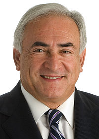 Dominique Strauss-Kahn en 2008.