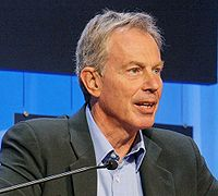 Tony Blair au World Economic Forum en 2008