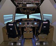 Simulateur de vol - Cockpit avion a vendre ...
