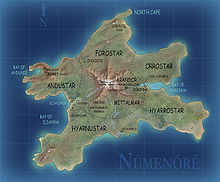 Carte de Númenor