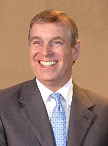 Le prince Andrew, le 12 avril 2007