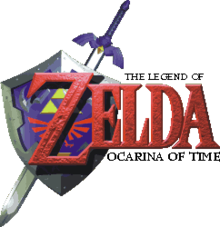 The Legend of Zelda Ocarina of Time logo.png