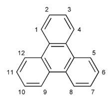 Triphenylene chemical structure.png