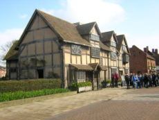 Maison natale de William Shakespeare