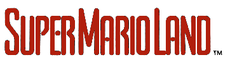 Logo de Super Mario Land