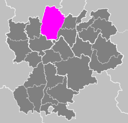 Image illustrative de l'article Arrondissement de Bourg-en-Bresse