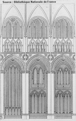 Architecture gothique for Architecture a 3 niveaux