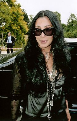 Cher à Paris en 2007