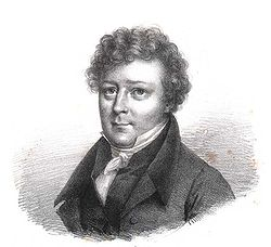 Jean Antoine Letronne, Lithography by Julien Leopold Boilly, 1796-1874