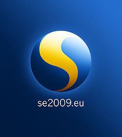 Logo of the Sweden's 2009 presidency of the Council of the European Union.jpg