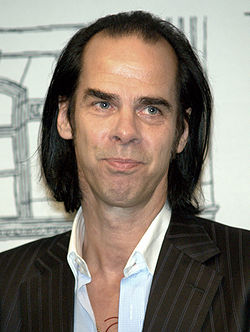 Nick Cave in New York City 2009 portrait by DS.jpg