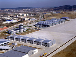 Terminal international de l'aéroport Sabiha Gökçen