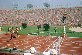 400 meter track at the 1984 Summer Olympics.JPEG