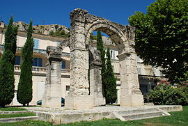 L'arc antique de Cavaillon