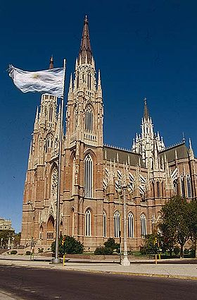 Image illustrative de l'article Cathédrale de l'Immaculée-Conception de La Plata