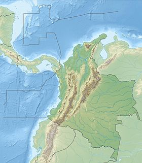 (Voir situation sur carte : Colombie (relief))