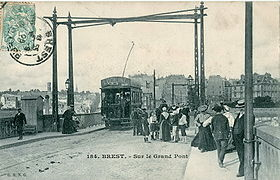 Image illustrative de l'article Ancien tramway de Brest