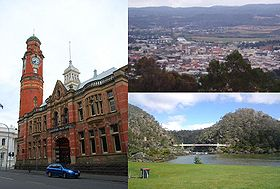 Vues de Launceston