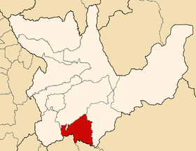 Location of the province Ambo in Huánuco.png