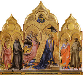 Image illustrative de l'article Triptyque de l'Annonciation (Lorenzo Monaco)