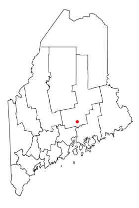 Map of Maine highlighting Bangor.png