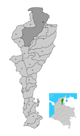 Carte de Valledupar