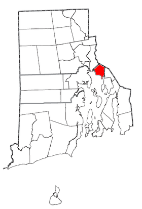 Rhode Island Municipalities Barrington Highlighted.png