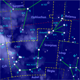 Image illustrative de l'article Scorpion (constellation)